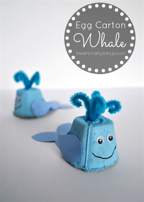 whale crafts for i crafty things egg whale craft