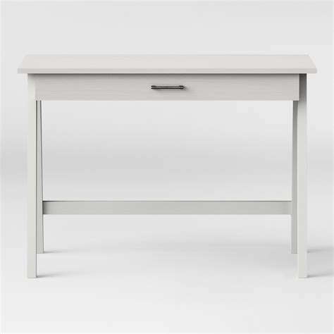 simple white writing upc 677446129734 writing desk threshold basic desk