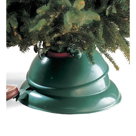 the best christmas tree stand hammacher schlemmer