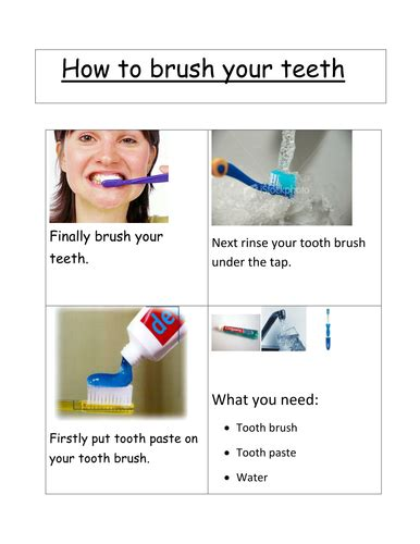 how to clean your s teeth how to clean your teeth by kissjet teaching resources tes