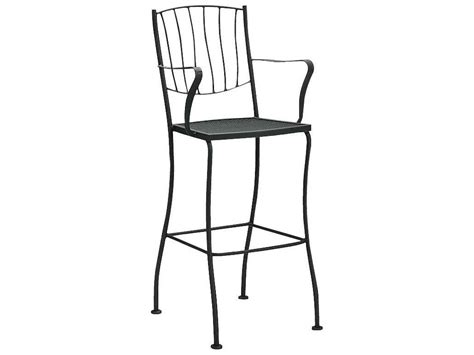 Wrought Iron Bar Stool Woodard Wrought Iron Bar Stool 5l0081