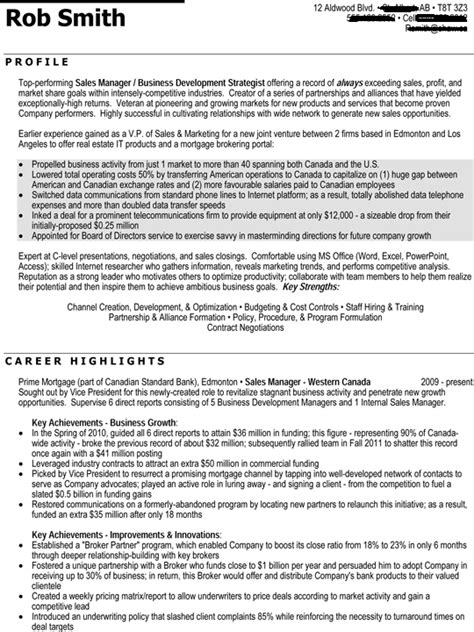 Executive Level Resume Template by Executive Level Resume Sle