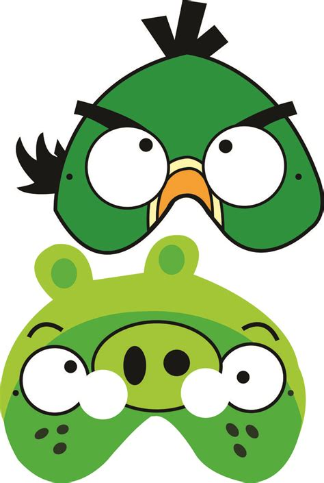 free angry birds printable masks luca s b day party