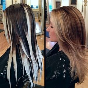 how to color roots when hair is highlighted ombre balayage or ecaille heatwave knows the difference