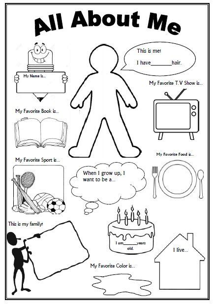 printable art activities for elementary this is an awesome free worksheet as a getting to know