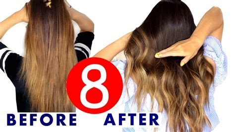 easy going out hairstyles youtube 8 easy hair color ombre hacks makeupwearables