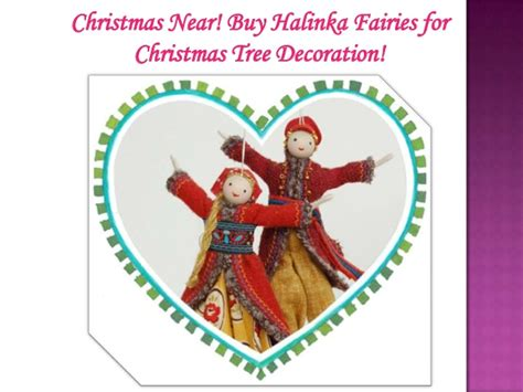 christmas near buy halinka fairies for christmas tree