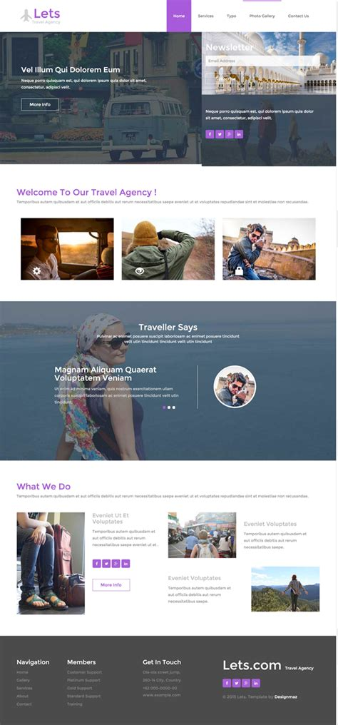 best free responsive html templates 10 best free travel hotel html5 templates designmaz