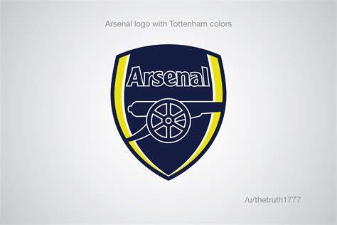 arsenal colors premier league club crests in the colour of a rival
