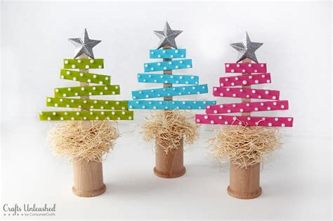 Handmade Trees Craft - 30 handmade trees