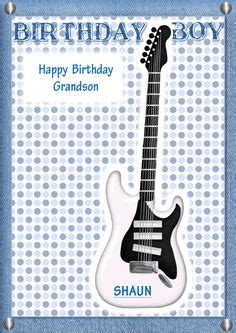 printable birthday cards with guitars my free printable cards at craftsuprint on pinterest