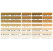 Bronzed Beige Or Hampton Green In This Palette