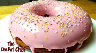 donuts kuchen donut cake one pot chef