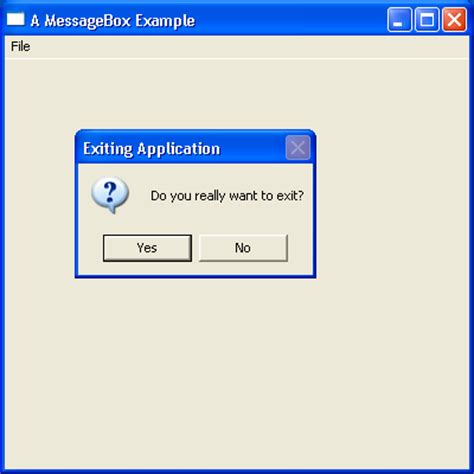 java swing modal dialog yes no icon messagebox dialog 171 swt jface eclipse 171 java