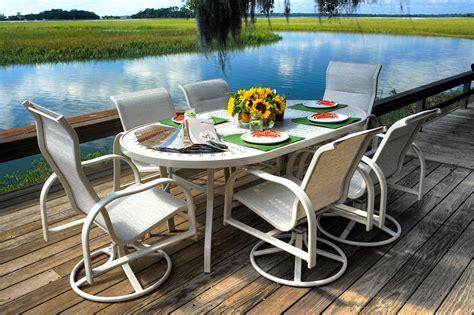 buy patio furniture should i buy cast aluminum patio furniture palm casual