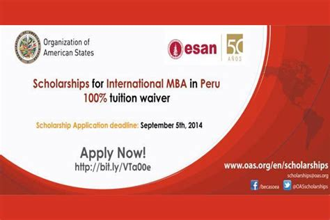 Scholarships For Mba Students In by Scholarships For International Mba In Peru Available For