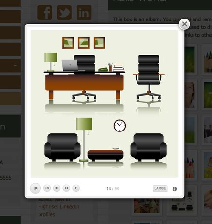 doodle kit sign in screenshot of new doodlekit slideshow tool doodlekit