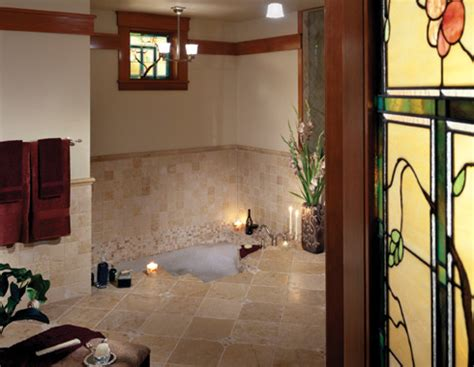 Arts And Crafts Bathroom Ideas Classic Arts And Crafts Style Architecture Traditional Bathroom Seattle By Gelotte