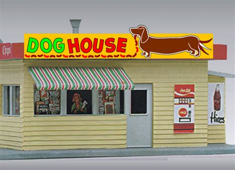 dog house sign miller 44 2452 dog house sign small