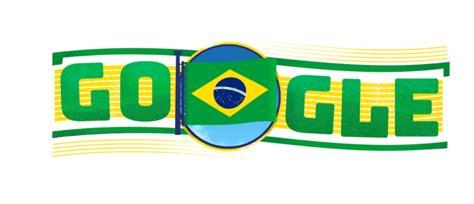 Dia Da Independ 234 Ncia Do Brasil Ganha Doodle Do