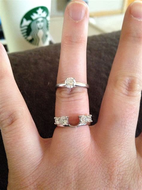 Wedding Bands With Solitaire by Show Us Your Wedding Band For Solitaire Engagement Rings