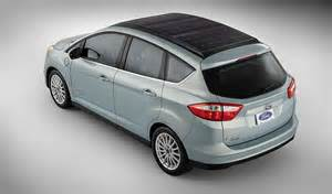 Electric Vehicles With Solar Panels Ford S Experimental Car Has Solar Panels On Roof Sfgate