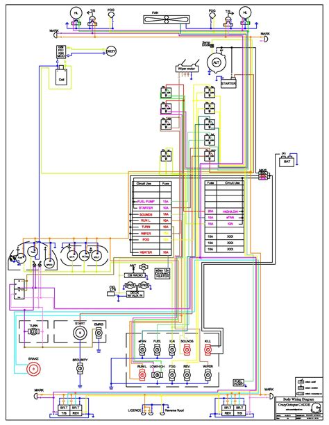 mitc automotive wiring diagrams wiring diagram and