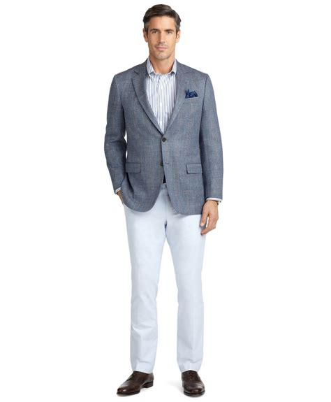 Pant Wash Prada Milan lyst brothers fit plainfront oxford