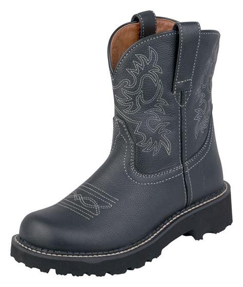 womens ariat fatbaby boots ariat fatbaby boots western cowboy 7 b black deertan