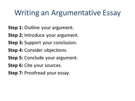 What Are The Steps To Writing An Essay by Critical Thinking A User S Manual Ppt