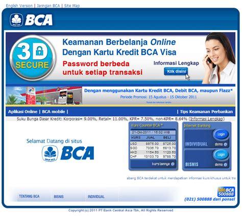 bca visa debit business blog
