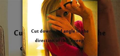 how to trim your own bangs side swept how to cut your own side swept bangs 171 hairstyling