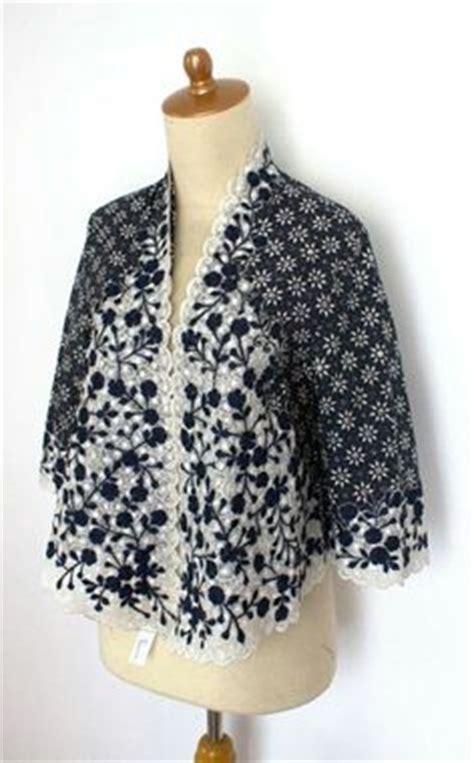 Blouse Batik Cap Kombinasi 2 blouse batik kombinasi brokat klambi batik kebaya brokat and blouses