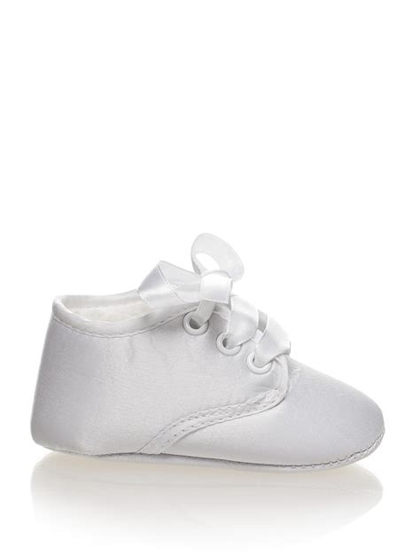 baby boys white christening shoes baby boys christening