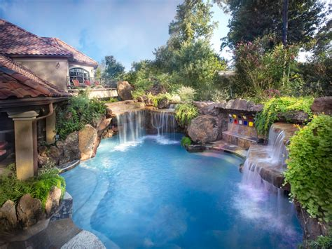 House Plans With Pools by John Guild Photography Pools Luxury Pools Garden