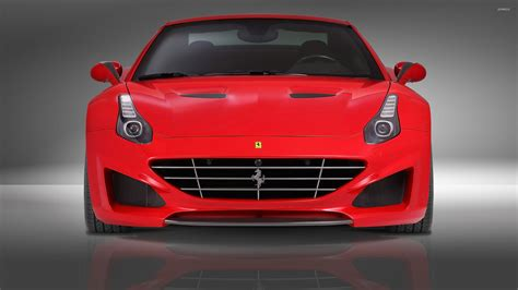 ferrari front view 2015 red novitec rosso ferrari california front view