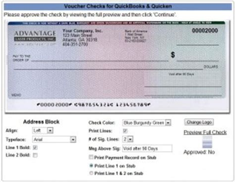 Real Free Background Check Quickbooks Voucher Checks Now Available With Real Time Preview Approval Free Logos