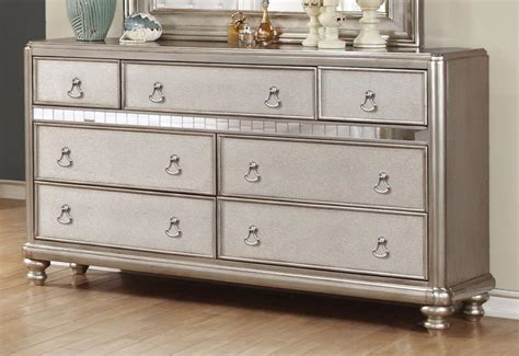 good quality affordable dressers bling dresser with 7 drawers and stacked bun feet