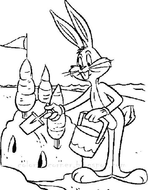 bugs bunny coloring pages printable bugs bunny coloring pages