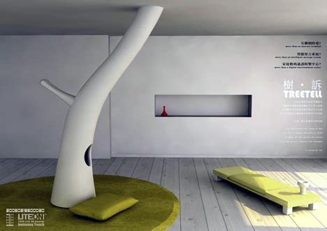 interactive interior design futuristic interactive living room interior design idea