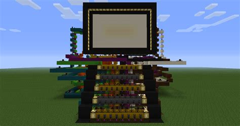 Build An A Frame House 40 pixel tv kind of redstone discussion and mechanisms