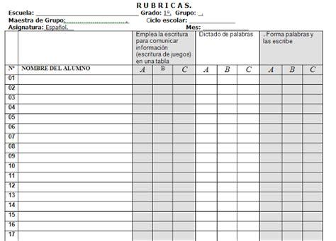 preguntas basicas para hacer un informe rubricas para primer grado de primaria con indicadores de