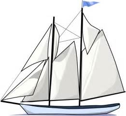 Sailboat Outline by Boat Sail Sideways Clip At Clker Vector Clip Royalty Free Domain