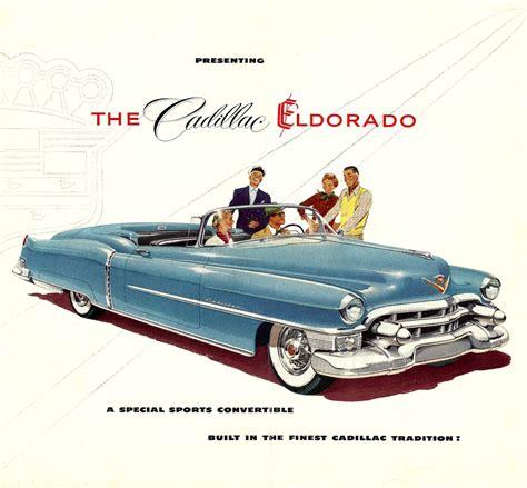 old car repair manuals 2001 cadillac eldorado on board diagnostic system 1953 cadillac eldorado folder