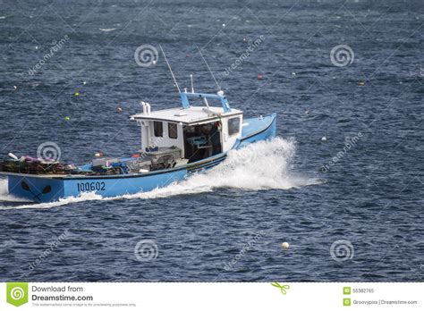 lobster boat seafood on the water working lobster boat editorial image image 55382765