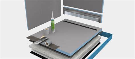 montaggio piatto doccia filo pavimento docce a filo pavimento wedi de con montaggio piatto doccia