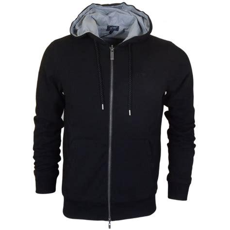 Hoodie Zipper Franky C3 armani b6m91 zip reversible black hoodie armani from n22 menswear uk