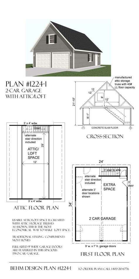 garage loft floor plans 25 best ideas about garage plans with loft on pinterest