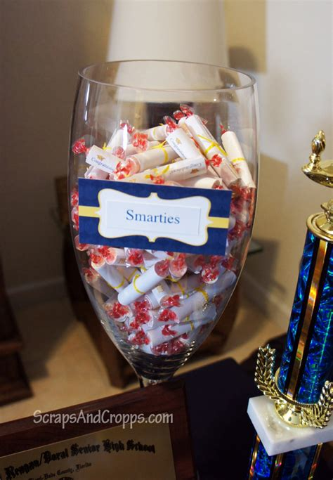 Handmade Graduation Decorations - nursing graduation favors