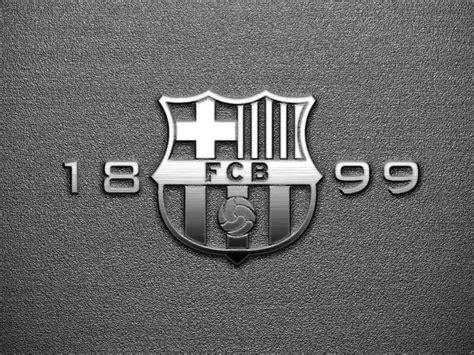 wallpaper barcelona black hd fc barcelona 1899 logo fc barcelona wallpapers